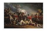 The Death of General Mercer at the Battle of Princeton  January 3  1777