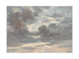 Cloud Study: Stormy Sunset  1821-2