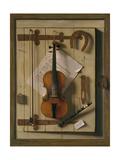 Still Life  Violin and Music  1888