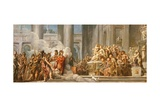 The Arrival of Aeneas in Carthage  1772-4