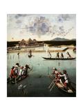 Hunting on the Lagoon  c1490-5