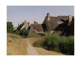 Houses near Orléans c1830