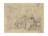 The Fencing Lesson  c1847-49