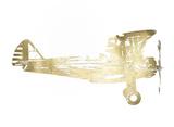 Gold Foil Technical Flight I Reproduction d'art par Ethan Harper