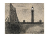 The Lighthouse at Honfleur  1886