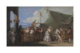 The Triumph of Pulcinella  1753-54