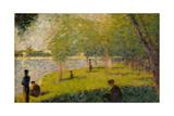 "Study for ""A Sunday on La Grande Jatte""  1884"