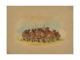 Mandan Buffalo Dance  1861