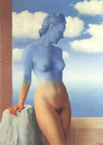 La Magie Noire (No border) Reproduction d'art par Rene Magritte