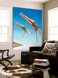 Le grand plongeoir Toile Murale Géante par Gregory Garrett
