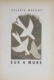 Galerie Maeght Sur 4 Murs Reproduction pour collectionneurs par Georges Braque