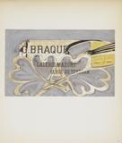 Galerie Maeght Reproduction pour collectionneurs par Georges Braque