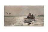 Bass Fishing - Florida  1890