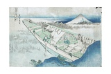 Joshu  Ushibori  Hetachi Provinces from the Series Thirty Six Views of Fuji  19th century