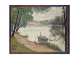 Gray Weather  Grande Jatte  c1886-88