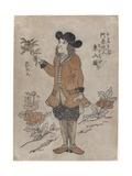 Dutch VOC employee in Nagasaki  c1700