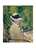 Madame Manet at Bellevue  1880