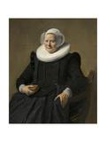 Portrait of an Elderly Lady  1633