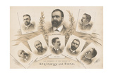 The members of the House of Steinway and Sons  1890
