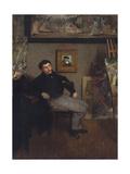 Portrait of the painter Tissot  1867-8