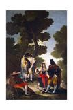 A Maja and Gallants  1777