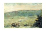 Landscape at Saint-Ouen  1878-79