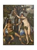 Adam and Eve  c1550