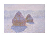 Haystacks (Effect of Snow and Sun)  1891