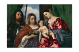 The Virgin and Child with Saint Dorothy and Saint George  1515-18