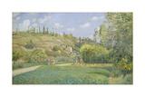 A Cowherd at Valhermeil  Auvers-sur-Oise  1874