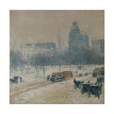 Winter in Union Square  1889-90