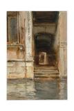 Venetian Passageway  c1905