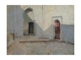 Courtyard  Tetuan  Morocco  1879-80