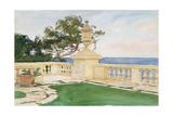 Terrace  Vizcaya  1917