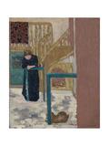 Mme Vuillard in a Set Designer's Studio  1893-94