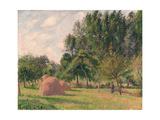 Haystacks  Morning  Éragny  1899