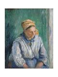Washerwoman  Study  1880