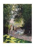 The Parc Monceau  1878