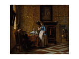 Leisure time in an elegant Setting  c1663-65