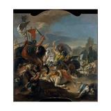 The Battle of Vercellae  1725-29