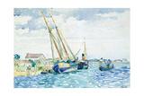 Marine Scene (Boats near Venice)  1903