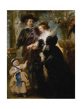 Rubens  His Wife Helena Fourment and Their Son Frans  c1635