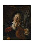 Boy with a Lute  c1625