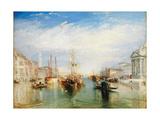 Venice  from the Porch of Madonna della Salute  c1835