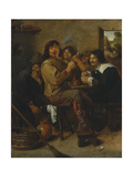 The Smokers  c1636