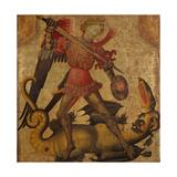 Saint Michael and the Dragon  c1405