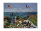 Garden at Sainte-Adresse  1867
