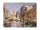 Venetian Canal  1913