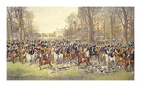 A Lawn Meet at Badminton Reproductions de collection premium par Dickinson Brothers & Foster