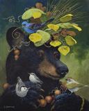 The Birdwatcher Giclée par Carolyn Schmitz